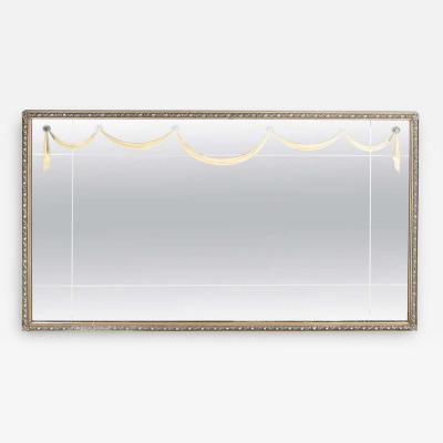 Grosfeld House Glamorous 1940s Gilt Mirror with Lucite Appliqu s By Grosfeld House