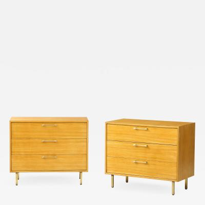 Grosfeld House Grosfeld House Primavera Wood 3 Drawer Modern Dressers