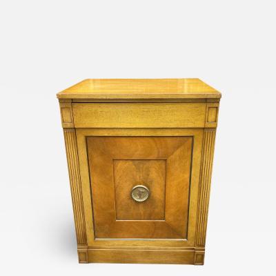 Grosfeld House Hollywood Regency Mid Century Modern Empire Low Secretary Desk Cabinet