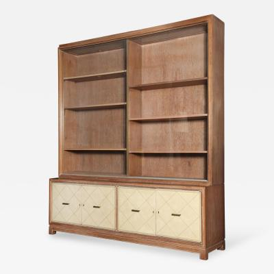 Grosfeld House Large Display Bookcase by Grosfeld House