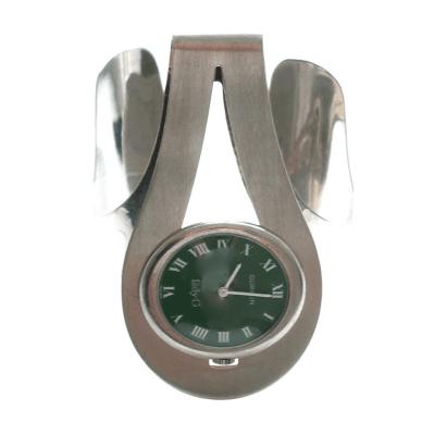 Gubelin Sterling and Enamel Watch by Gubelin circa 1970