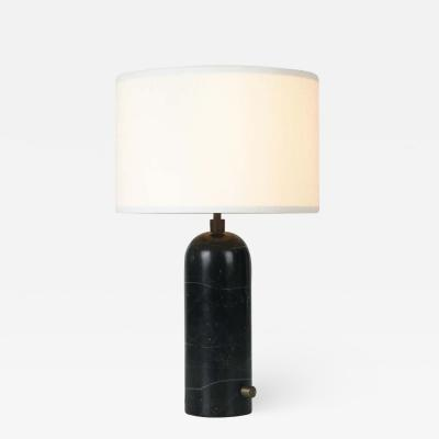 Gubi Black Marble Gravity Table Lamp by Space Copenhagen for Gubi