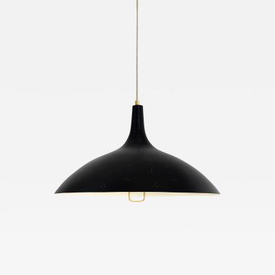 Gubi Paavo Tynell 1965 Pendant Lamp in Black