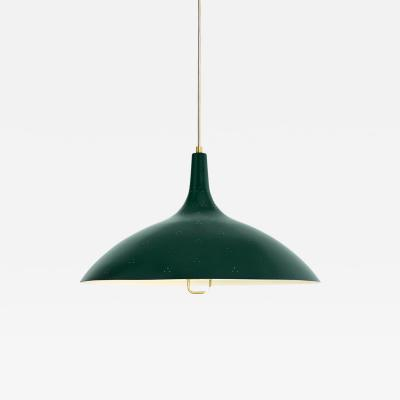 Gubi Paavo Tynell 1965 Pendant Lamp in Green