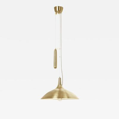 Gubi Paavo Tynell A1965 Counterweight Pendant Lamp in Brass