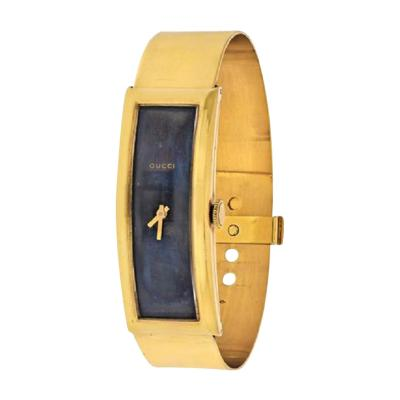 Gucci GUCCI CIRCA 1970S 18K YELLOW GOLD VINTAGE RECTANGULAR WATCH