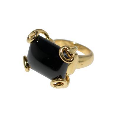 Gucci Gucci 18K Onyx Ring