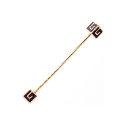 Gucci Gucci Enamel Gold Stick Pin