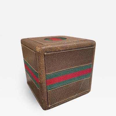 Gucci Gucci Poker Cube 1970s