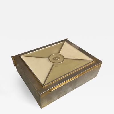 Gucci Silver Gucci Box Italy 1970s