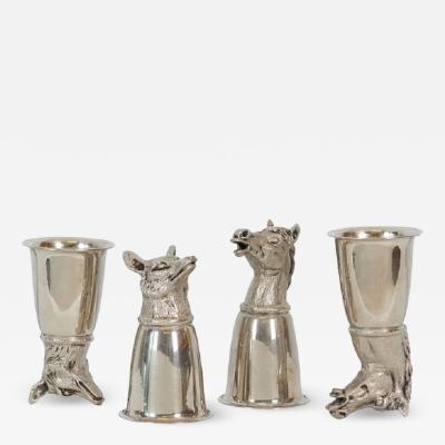Gucci Silver Gucci Stirrup Cups