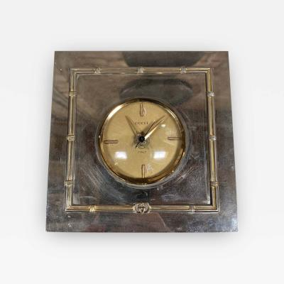 Gucci Vintage Gucci table Clock 1970s