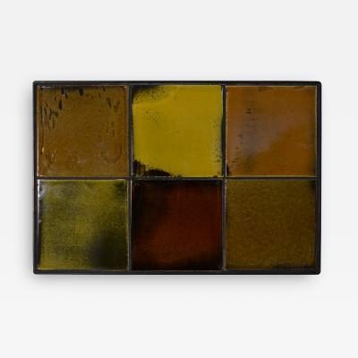 Gueridon Group Tile Panel by Gueridon Group using Roger Capron Tiles