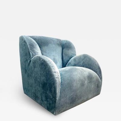 Gufram Ceretti Derossi Rosso Vintage Lounge Chair Designed by Ceretti DeRossi Rosso