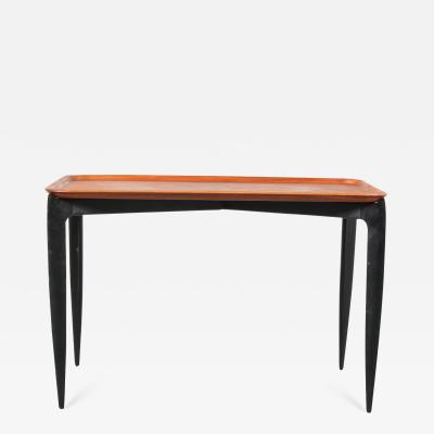 H Willumsen S A Engholm Tray Table by Age Willumsen Hans Engholm for Fritz Hansen Denmark 1950