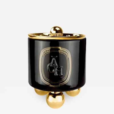 HOMM S Studio Achi Black Candle