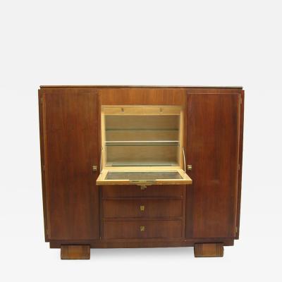 Haentge s Freres Fine French Art Deco Cabinet Bar by Haentge s