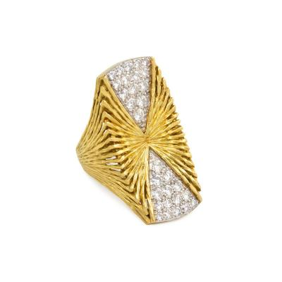 Hammerman Brothers Hammerman Brothers Gold and Diamond Ring