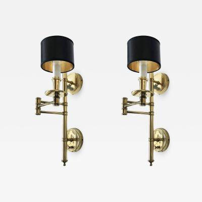 Hansen Lighting Co Pair Hansen Sconces