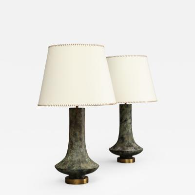 Hansen Lighting Pair of Lamps