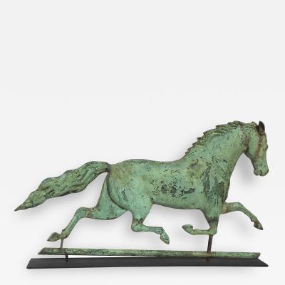 Harris Co SIGNED HARRIS HORSE WEATHERVANE