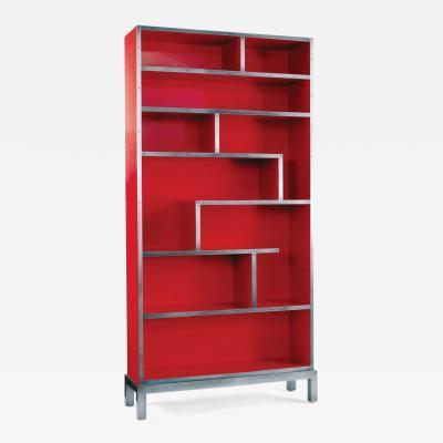 Harris Rubin Inc De Stijl Bookcase
