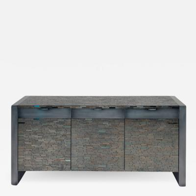 Harris Rubin Inc Jan Mosaic Cabinet