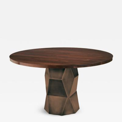Harris Rubin Inc Pedestal Table