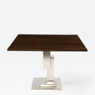 Harris Rubin Inc St Germain Side Table Stainless