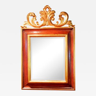 Harrison Gil Large Carved and Gilt Mahogany Mirror by Harrison Gil later Christopher Guy