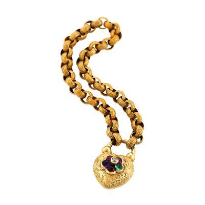 Harvey Company Antique Gold and Diamond REGARD Bracelet