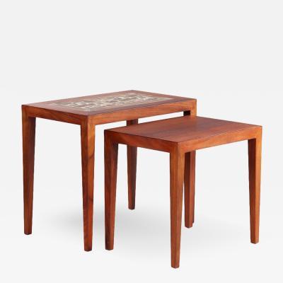 Haslev M belsnedkeri Nesting Tables by Haslev