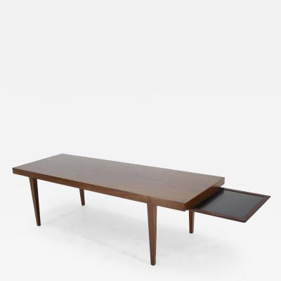 Haslev M belsnedkeri Severin Hansen Palisander Coffee Table Model 44 for Haslev