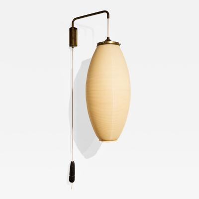 Heifetz Rotaflex Adjustable Wall Hanging Lamp