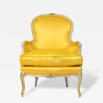 Henredon 1950s Henredon Bergere Chair Louis XV Style