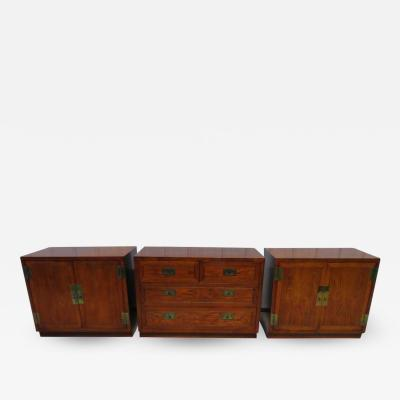 Henredon Furniture 3 Outstanding Henredon Campaign Chest Cabinet Credenza Mid Century Modern