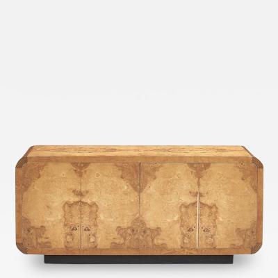Henredon Furniture Henredon Burl Wood Credenza 1980