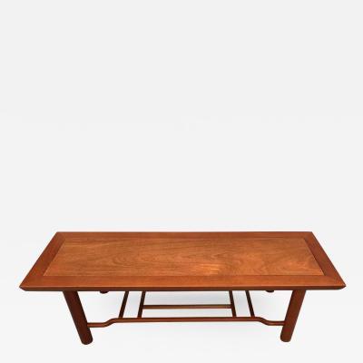 Heritage Furniture Mahogany Coffee Table by Heritage Henridon