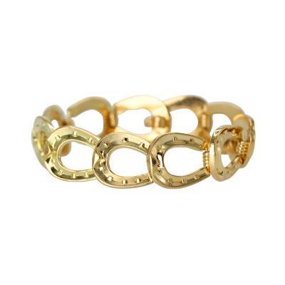 Herm s 18 Karat Gold Horseshoe Link Bracelet by Herm s Paris