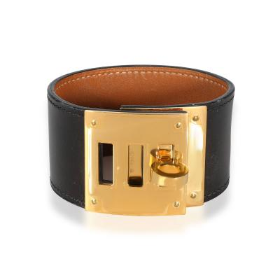Herm s Herm s Kelly Bracelet with Gold Plated Hardware