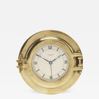 Herm s Herm s Rare Porthole table clock