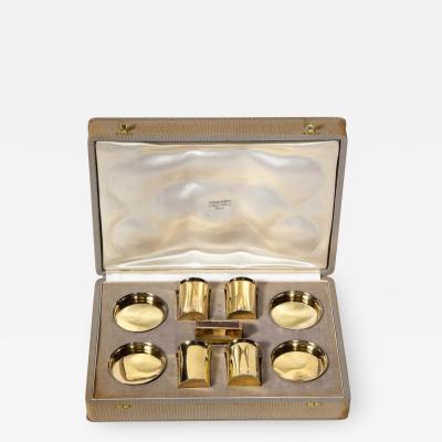 Herm s Hermes Paris Ravinet d Enfert a Rare French Silver Gilt Smoking Set