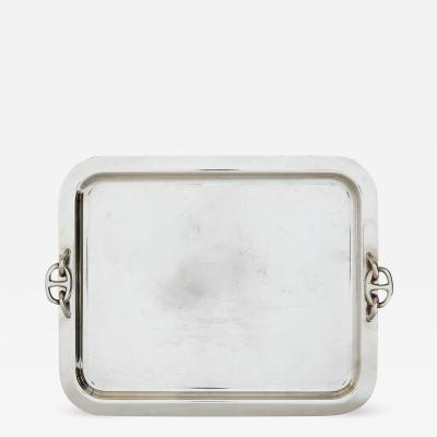 Herm s Silver plated tray by Herm s Paris