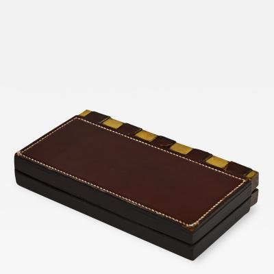 Herm s leather box