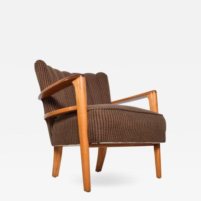 Heywood Wakefield Mid Century Modern Heywood Wakefield Maple Lounge Chair 1950s