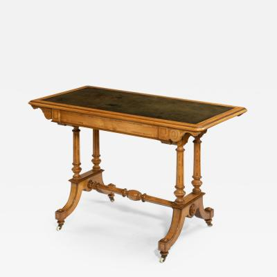 Holland Sons A Victorian writing table attributed to Holland and Sons