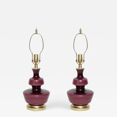 Holmegaard Holmegaard Raspberry Glass Lamps