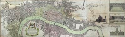 Homann Heirs Urbium Londini et West Monasterii nec non Suburbii Southwark