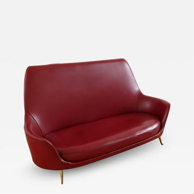 I S A 1950s Two Seater Sofa by ISA