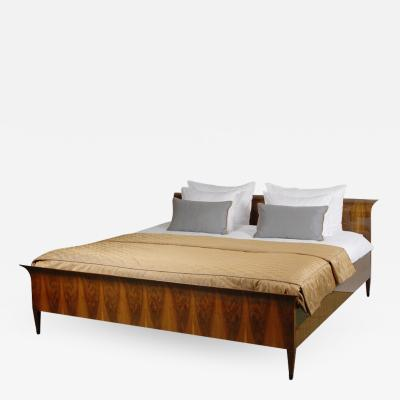 ILIAD Bespoke Biedermeier Inspired King Size Bed